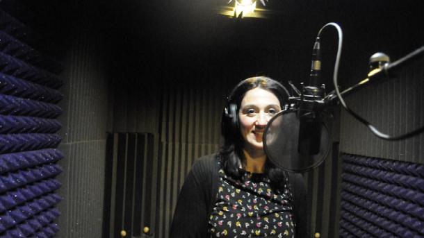 FJ Lamela Perfume de mujer recording session
